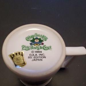 Vintage 1985 Cabbage Patch Kid 1st Birthday Mug
